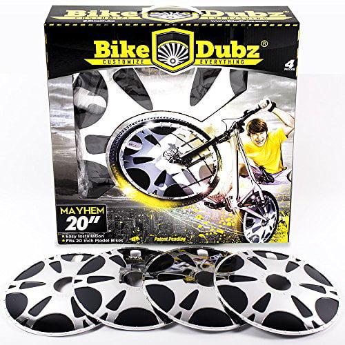 Bikedubz Mayhem 20 Inch Bmx Custom Bicycle Wheel Covers Universal