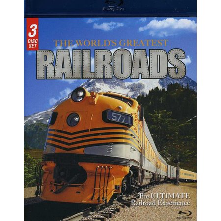 The World's Greatest Railroads (Blu-ray) (Greatest Miracle In The World)
