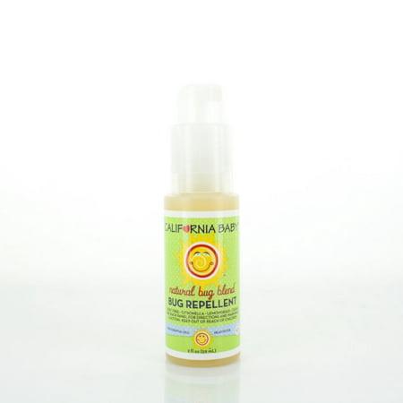 Baby Bug Spray (California Baby Natural Bug Blend Bug Repellent Spray - 2 oz)