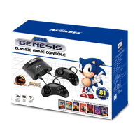 Sega Genesis Classic Game Console with 81 Classic Games Deals