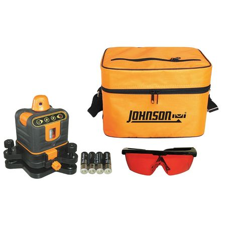 Johnson Level & Tool 40-6502 Rotary Manual Laser Level by JOHNSON LEVEL & TOOL