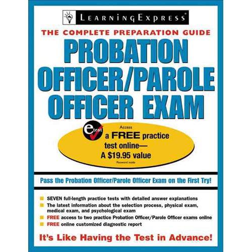 Probation Officer/ Parole Officer Exam - Walmart.com