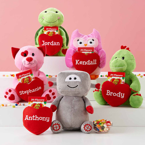 Personalized Deluxe Plush Pocket Pal, Dinosaur