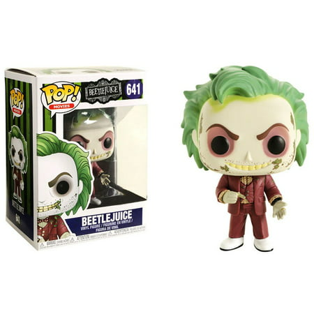 Funko POP! Movies Beetlejuice Vinyl Figure [Wedding] - Beetlejuice Head Shrunken