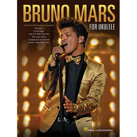 Bruno Mars For Ukulele  Paperback
