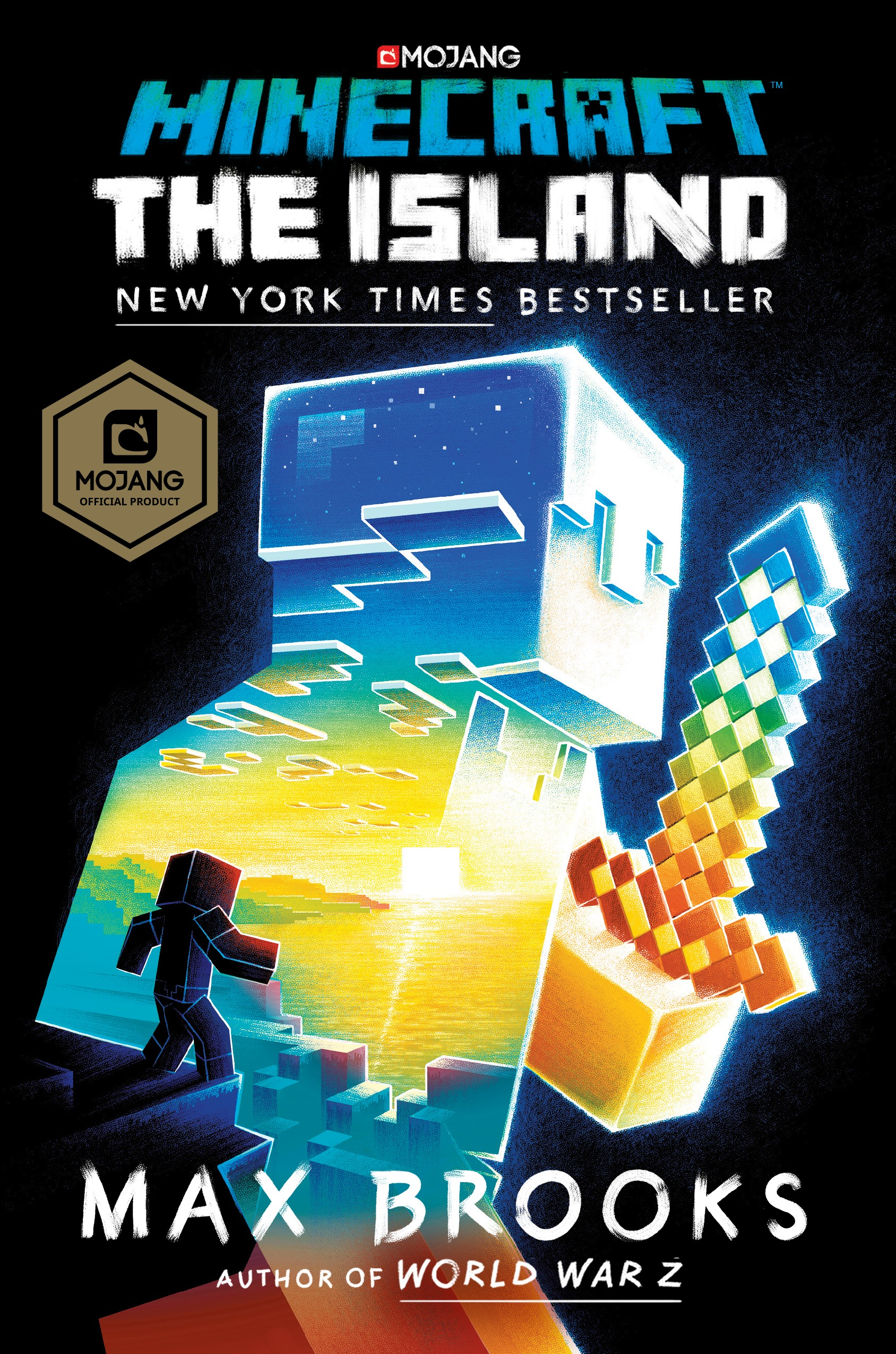 Minecraft: The Island : An Official Minecraft Novel by Del Rey Books