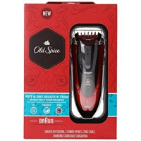 Old Spice Wet & Dry, Shave & Trim Shaver, Powered by Braun