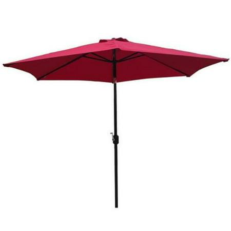 Hard Rock Palm Springs Halloween (Palm Springs 10ft Aluminium Outdoor Patio Umbrella Garden Parasol w/ Tilt)