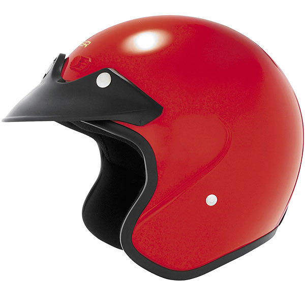 Cyber U-6 Open Face Helmet Red