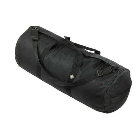North Star Sport Duffle Bag 18in Diam 42in L-Midnight Black - Personalized Duffle Bags