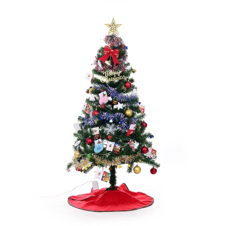 4ft xmas finest premium charlie pine christmas tree metal legs 4 foot unlit