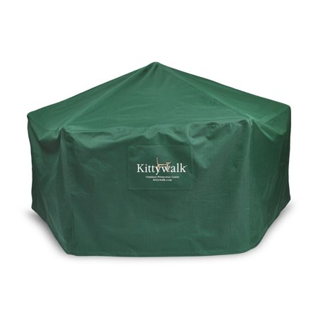Kittywalk Outdoor Protective Cover for Gazebo Pet Enclosure ()