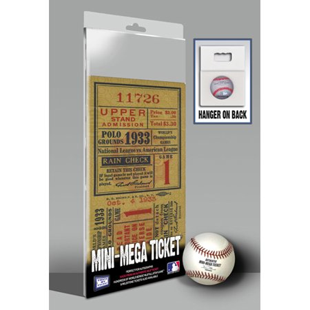 Thats My Ticket 1933 Mlb World Series New York Giants Mini Mega Ticket