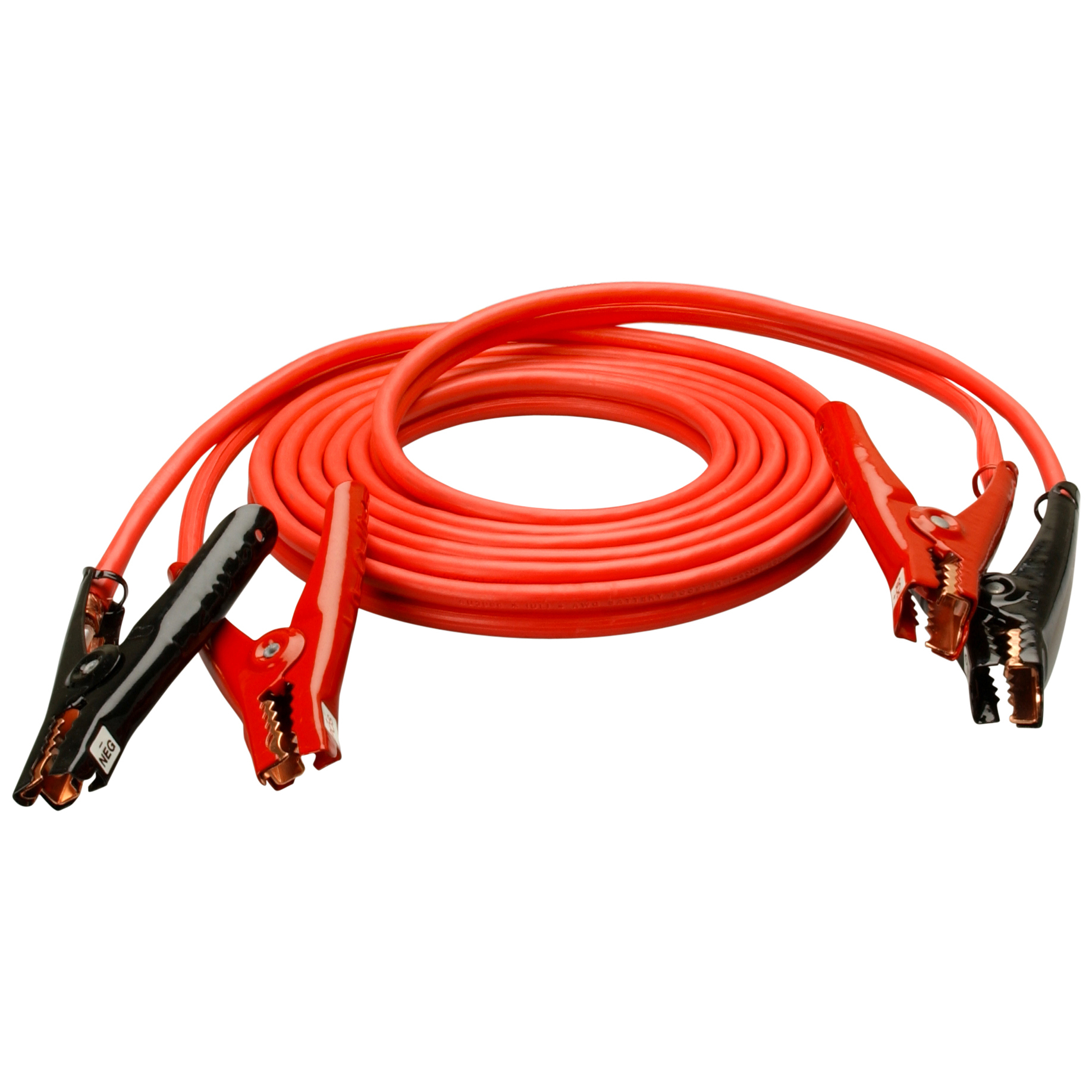Coleman Cable 86600104 20' 4 Gauge Booster Cable With Polar-Glo Clamps