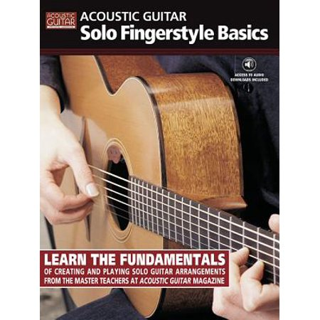 Beginning Fingerstyle Guitar - Acoustic Guitar Solo Fingerstyle Basics