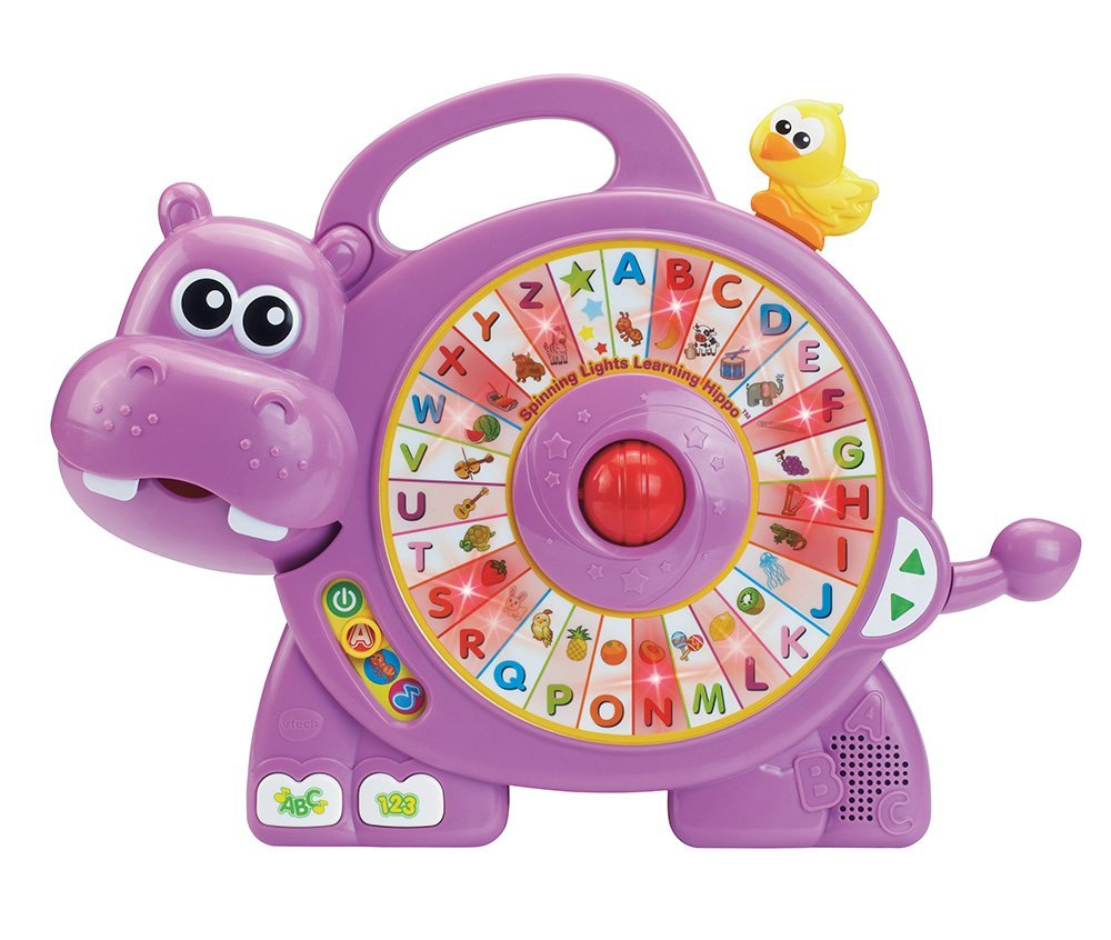 VTech Spinning Lights Learning Hippo by