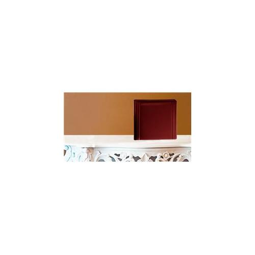 Leather Album Designs CM26031010618B Matted 10X10 Burgandy Faux Leather 15 Pg - 30 Side Album