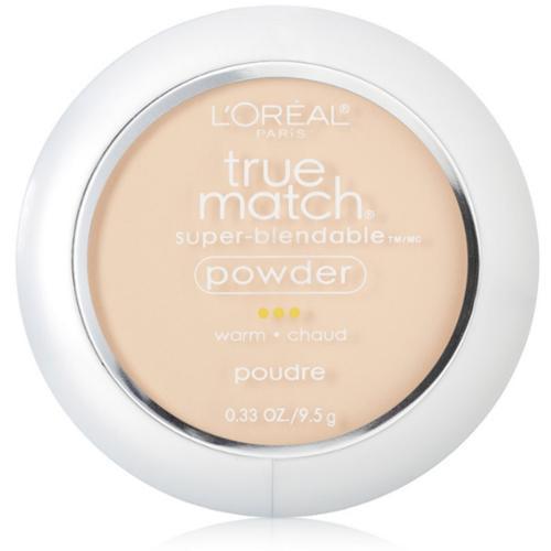L'Oreal True Match Powder, Porcelain [W1], 0.33 oz (Pack of 2)