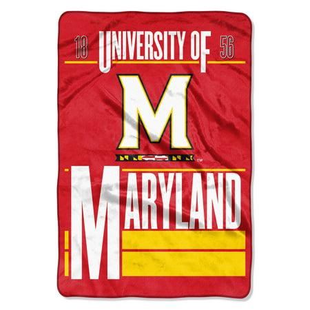 NCAA Maryland Terrapins Faculty Oversized Micro Raschel 62