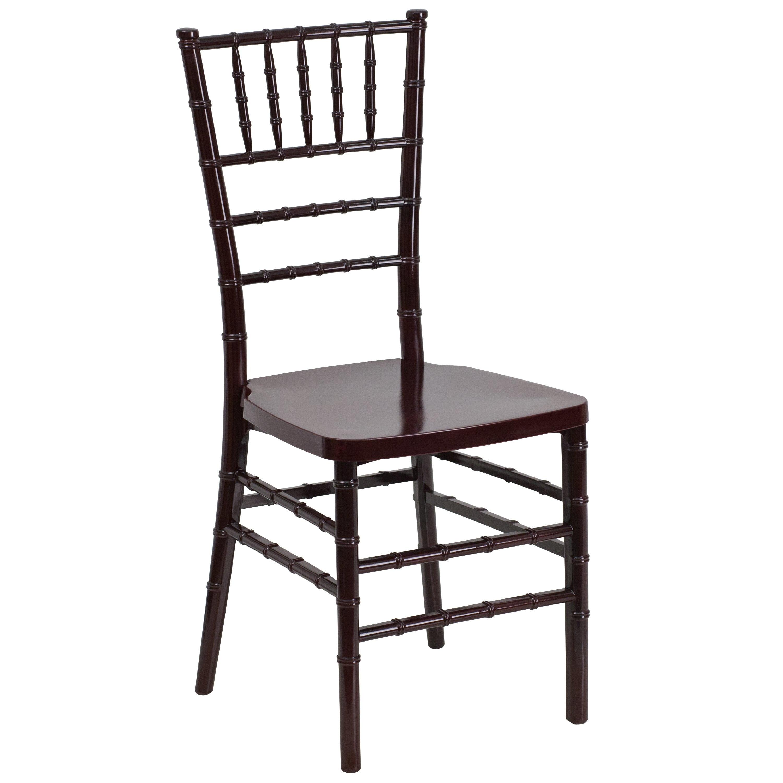 Lancaster Home Flash Elegance Resin Stacking Chiavari Chair