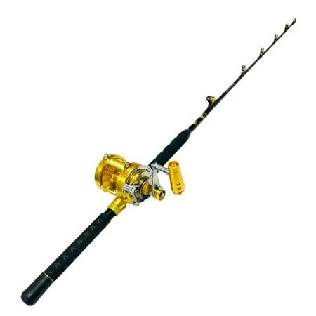 The Marlin Hunter's Angler Bundle Rod & 30 Wide 2 Speed Reel (Marlin 30 30 Stock)
