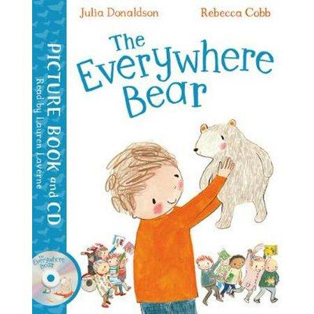 Everywhere Bear - EVERYWHERE BEAR BOOK & CD
