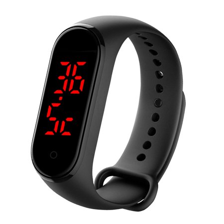 AIHOME Body Temperature Bracelet Smart Watch Real-Time Monitoring Thermometer - image 8 de 9