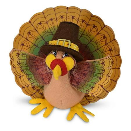 Annalee Dolls 2019 Thanksgiving 6in Pilgrim Turkey Plush New with Tag