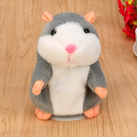 - Adorable Interesting Speak Talking Record Hamster Mouse Plush Kids Toys