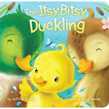 Burton Blunt Board - Itsy Bitsy Duckling (Board Book)