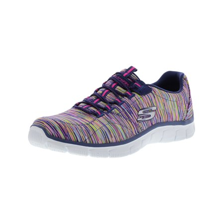 Skechers Women's Empire - Game On Navy / Multi Ankle-High Fabric Training Shoes 7M ()