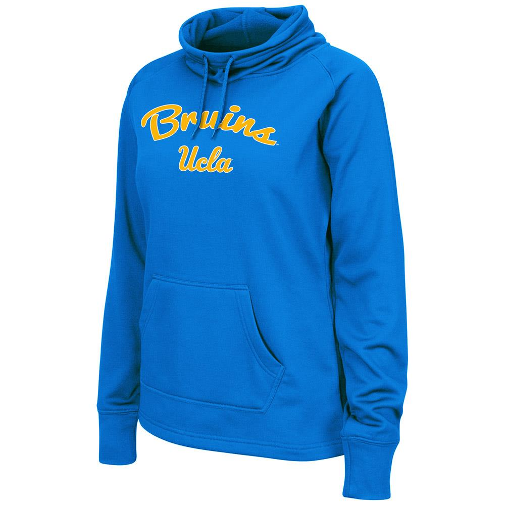 Womens UCLA Bruins Poly Pull-over Funnel Neck Sweatshirt