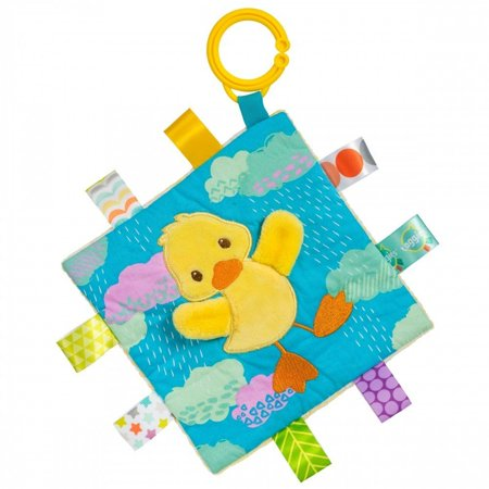 Crinkle Me Dipsy Duck (Taggies) Stuffed Animals for Infant by Mary Meyer (Duck Infant Stuffed Animal)