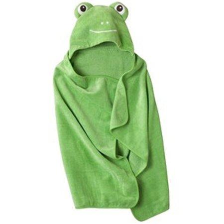 Circo Hooded Green Frog Bath Towel