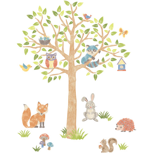 Wall Pops Woodlands Super Wall Art Decals