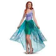 Ariel The Little Mermaid Womens Adult Deluxe Disney Princess Costume