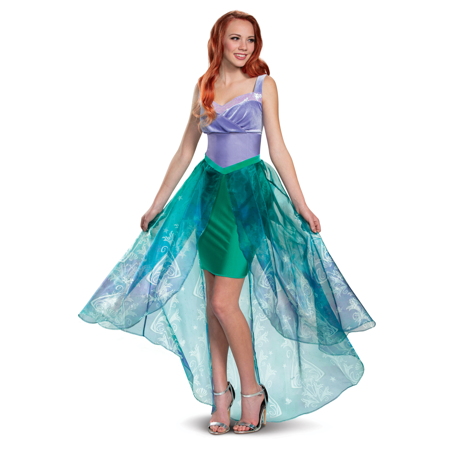 Ariel Costumes Adults (Ariel The Little Mermaid Womens Adult Deluxe Disney Princess)