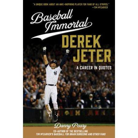 Baseball Immortal Derek Jeter - eBook Derek Jeter Autographed Mlb Baseball
