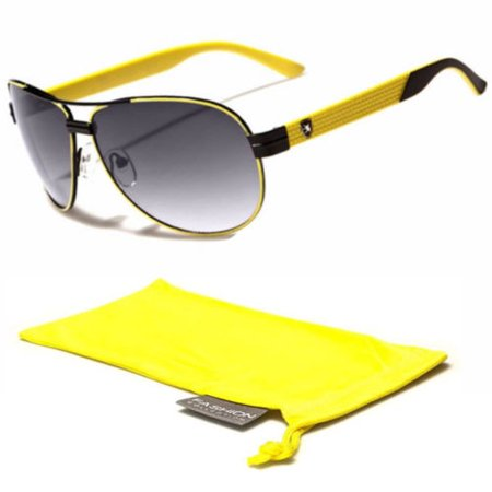 Classic Retro Vintage Men Women Fashion Aviator Sunglasses Racing Sports (Raving Glasses)