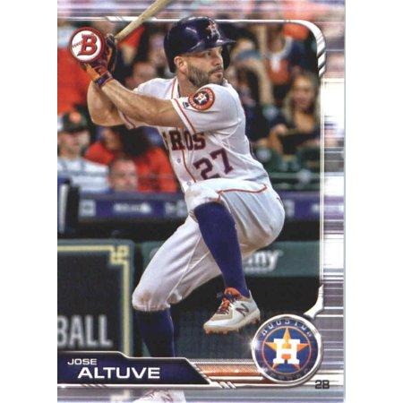 2019 Bowman #62 Jose Altuve Houston Astros Baseball Card 2000 Bowman Baseball Card