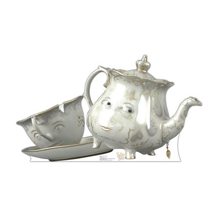 Advanced Graphics Beauty and the Beast Mrs. Pots and Chip Cardboard Standup](Chip Teacup Beauty And The Beast)