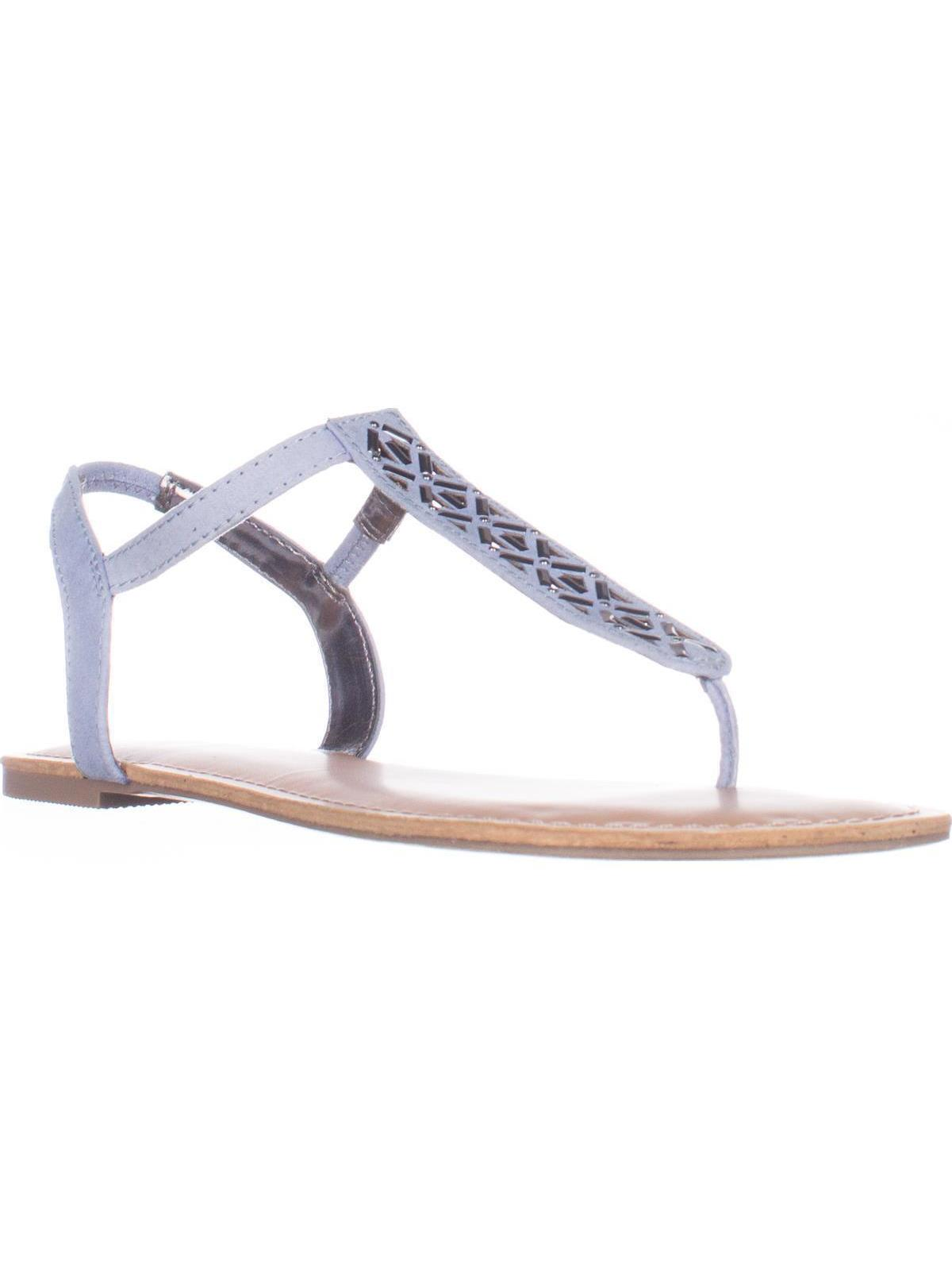 608238027 MG35 Skyler Flat T-Strap Thong Sandals