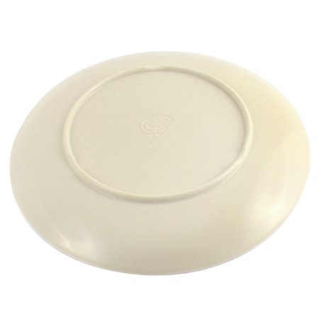 Home Restaurant Plastic Round Design Lunch Food Steak Dish Plate 20cm Dia - image 1 of 2