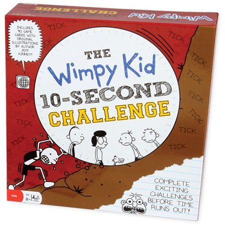 Pressman Toy Diary Of A Wimpy Kid 10 Second Challenge Game