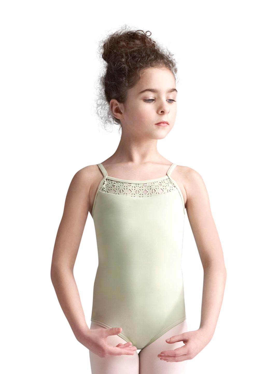 Strappy Camisole Leotard - Girls