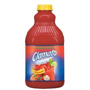 (2 Pack) Clamato Tomato Cocktail, Picante, 64 Fl Oz, 1 Count