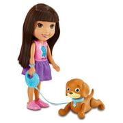 Nickelodeon Dora and Friends Train & Play Dora and Perrito