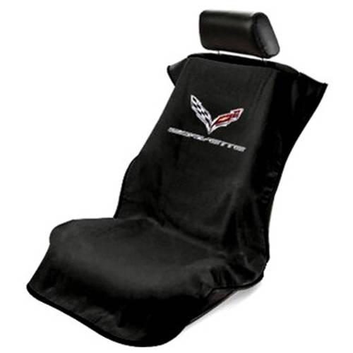 SeatArmour Corvette C7 Black Seat Armour