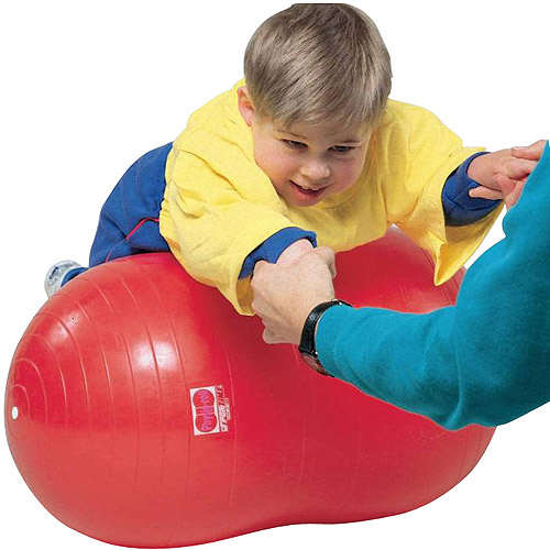 "Sportime Physio Roll Exercise Therapy Fitness Ball, 16"", Red"