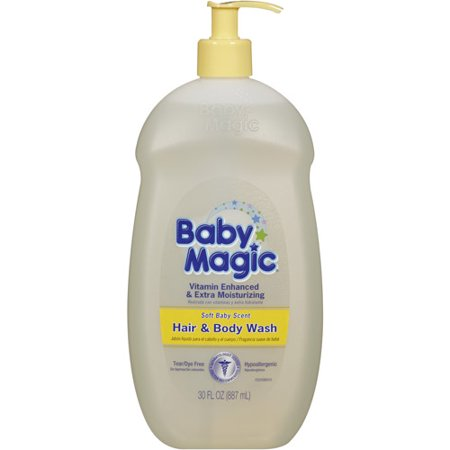 Baby Magic doux parfum de bébé Hair & Body Wash, non-OGM, 30 oz